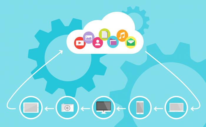 クラウド・コンピューティングのイメージは「雲」