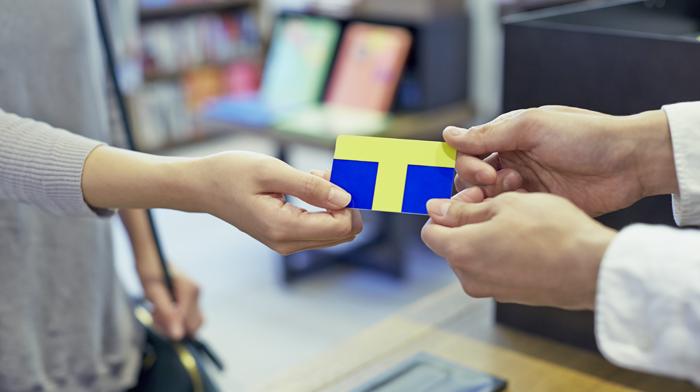 Tポイントカードの利用イメージ