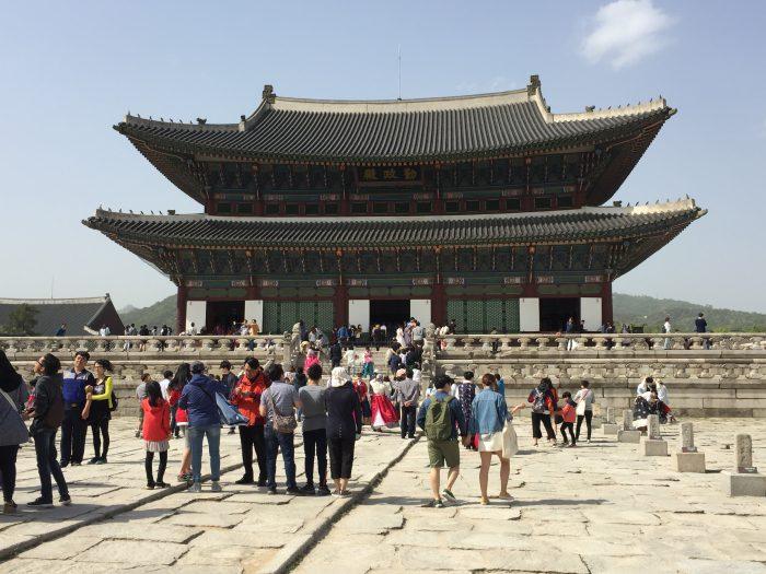 韓国ソウルの観光名所・景福宮