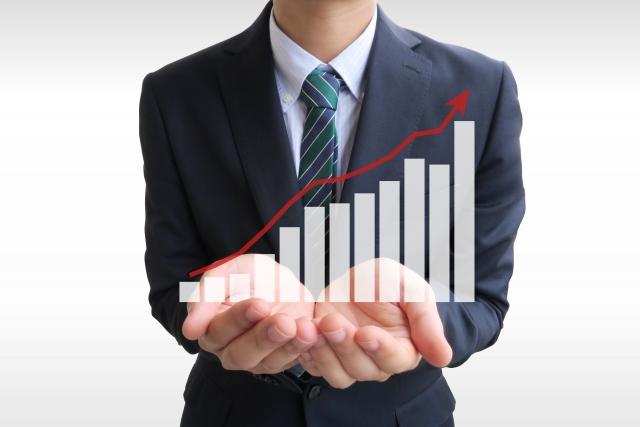 企業の成長イメージ