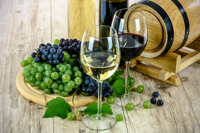 ぶどうとワイン