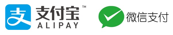 支付宝とWechat Payのロゴ