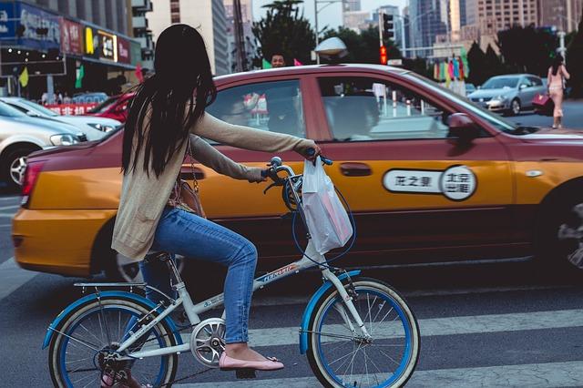 中国の街頭